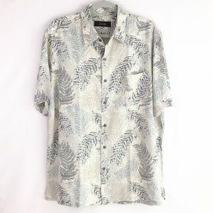 Tasso Elba silk/linen shirt